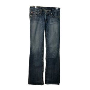 Big Star Womens Distressed Casey Low Rise Fit Jean